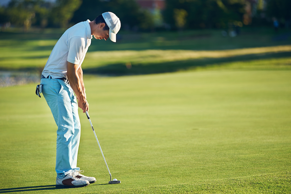 how to measure golf putter